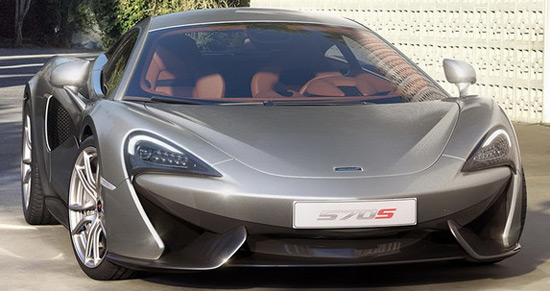 New McLaren 570S Coupe Officially Revealed