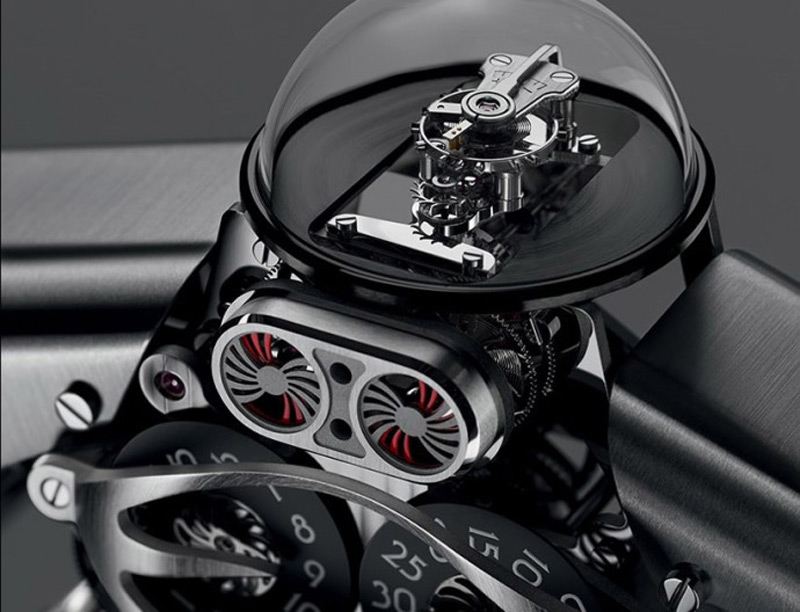 Melchior - MB&F's New $35,000 Robot Watch