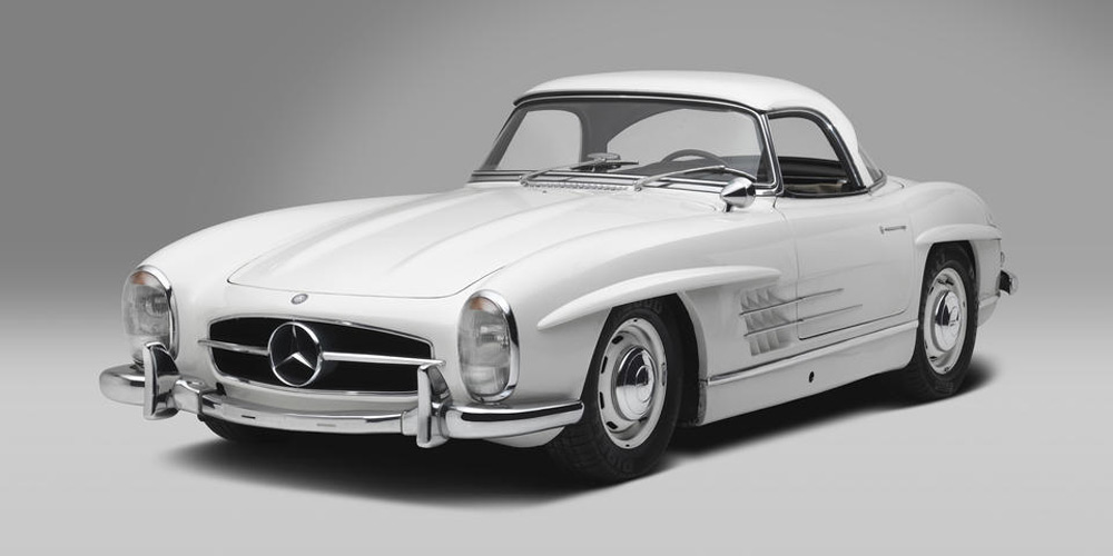 Iconic 300 sl roadsters and gullwings at bonhams 39 mercedes for 2 5 million mercedes benz