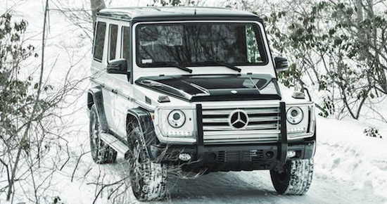 a special edition model of its G class called G550 Night Star Edition