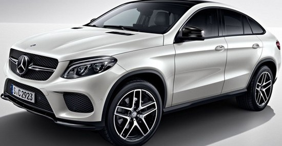 Mercedes, for its new model GLE Coupe, has offered an optional Night package