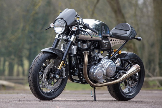 "Norton Dominator - Ultimate Bike With ""Oldschool"" Look"