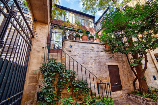 Balthus' Studio in Parisian 16th Century Courtyard on Sale