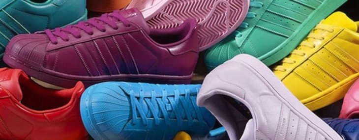 New adidas Originals Superstar Supercolor Collection by Pharrell Williams