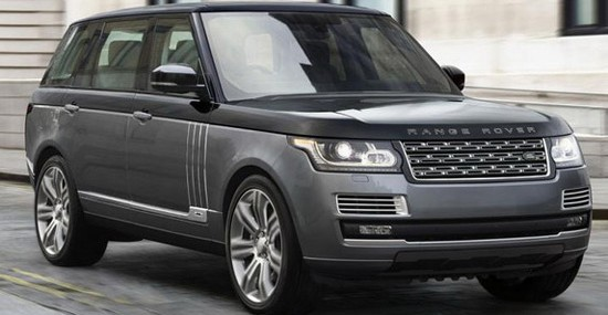 Super Luxury Range Rover SVAutobiography Edition