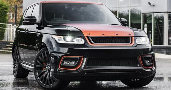 Kahn Design Range Rover Sport 3.0 SDV6 Diesel HSE 400 LE Vesuvius Luxury Edition