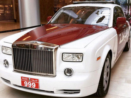 Luxury Rolls-Royce Phantom Joins Abu Dhabi Police Fleet