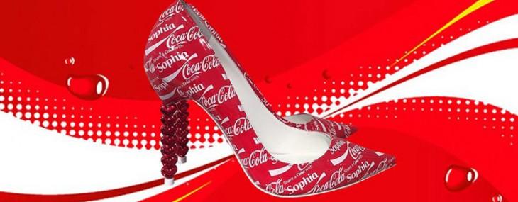Sophia Webster's Coca-Cola Shoes – Special Edition