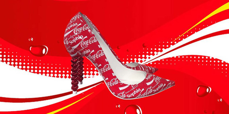Sophia Webster's Coca-Cola Shoes - Special Edition