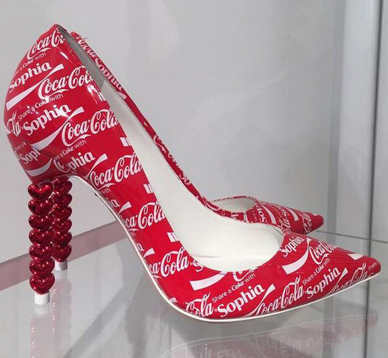 Sophia Webster's Coca-Cola Shoes