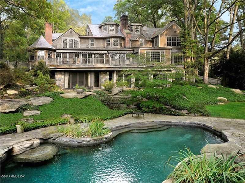 Stone And Shingle Greenwich Home On Sale for $4,750,000