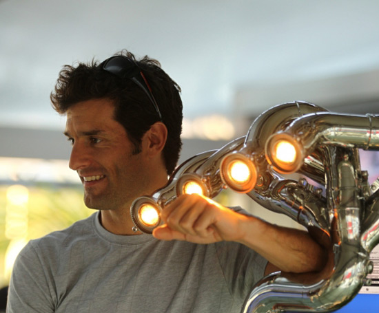 You Can Own The F1 Championship Winning Exhaust Lamp
