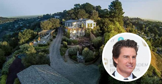 Tom Cruise's Hollywood Hills Compound on Sale for $13 Million