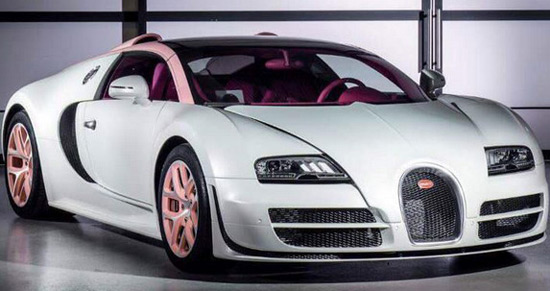 Veyron Grand Sport Vitesse Cristal Edition ordered by Zheng Ting