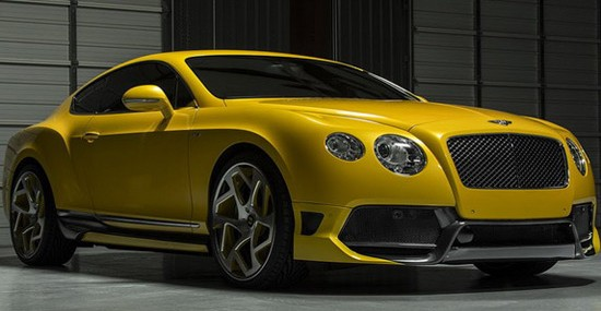 modified Bentley Continental GT, this time equipped with their BR10RS body package