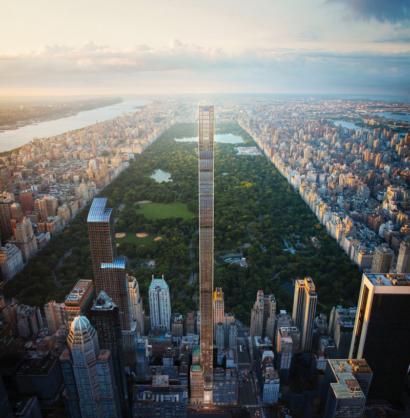 New Rendering and Teaser Site Released for World's Skinniest Tower