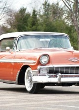 Gorgeous 1956 Chevrolet Bel Air Convertible Goes Under the Hammer