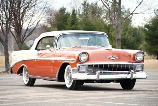 Auburn Spring: 1956 Chevrolet Bel Air Convertible