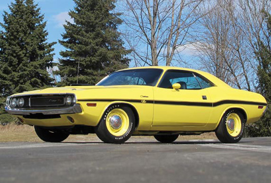 1970 Dodge Hemi Challenger R/T Hardtop at Auction