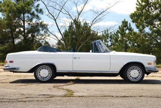 1971 Mercedes-Benz 280SE 3.5 Cabriolet at Auction