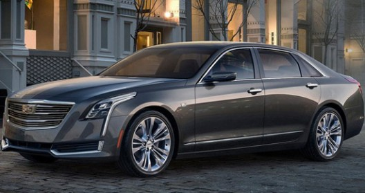 New 2016 Cadillac CT6 Luxury Sedan