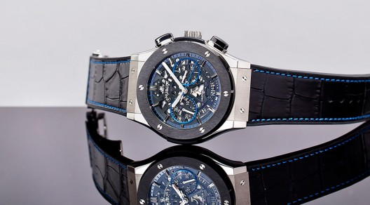 Limited-Edition Chronograph Aerofusion by Hublot And The Watch Gallery