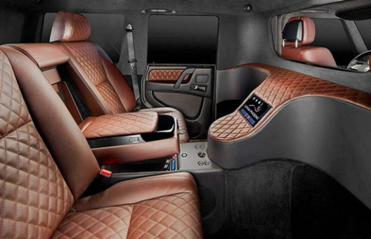 Armored and Luxury Alpha Phoenix Mercedes G 63 AMG