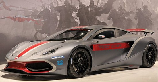 Arrinera Hussary – First Polish Supercar Presented in Poznan