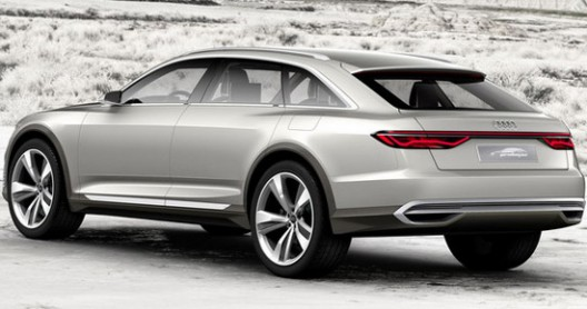 Audi Prologue Allroad Is Ready For The Shanghai Motor Show