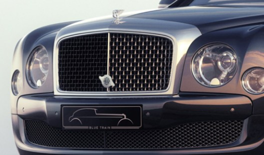 Bentley Mulsanne Blue Train by Mulliner