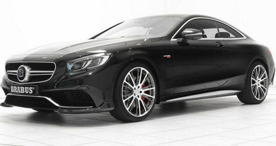 Super Fast Brabus 850 S63 AMG Coupe