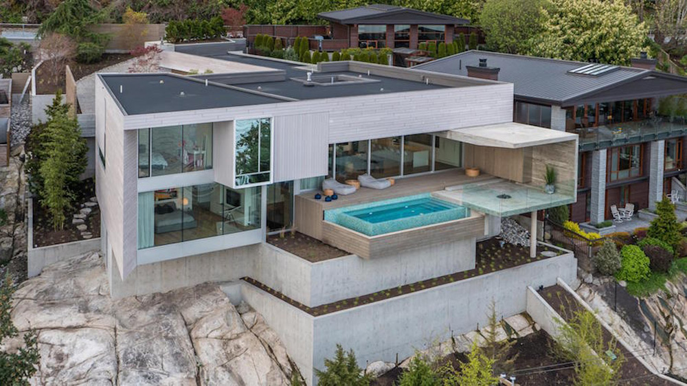 Spectacular brand new home in west vancouver bc on sale for Pool design vancouver