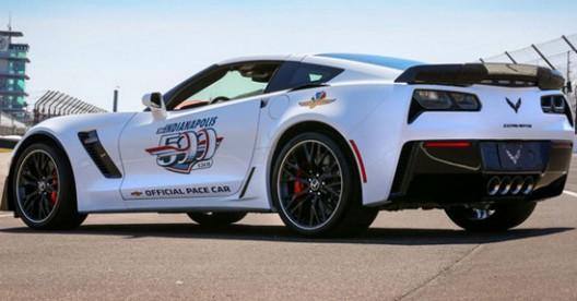 Chevrolet has prepared a Corvette Z06 pace car