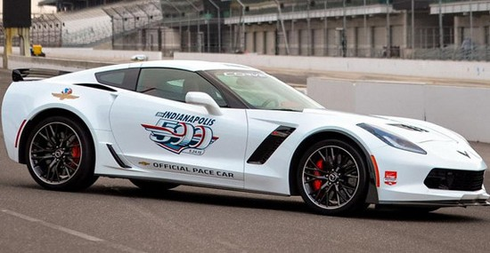 Chevrolet has prepared a Corvette Z06 pace car