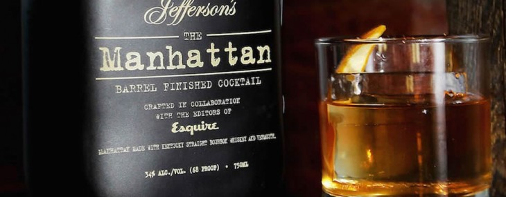 Manhattan –  Barrel Finished Cocktail by Jefferson's Bourbon And Esquire