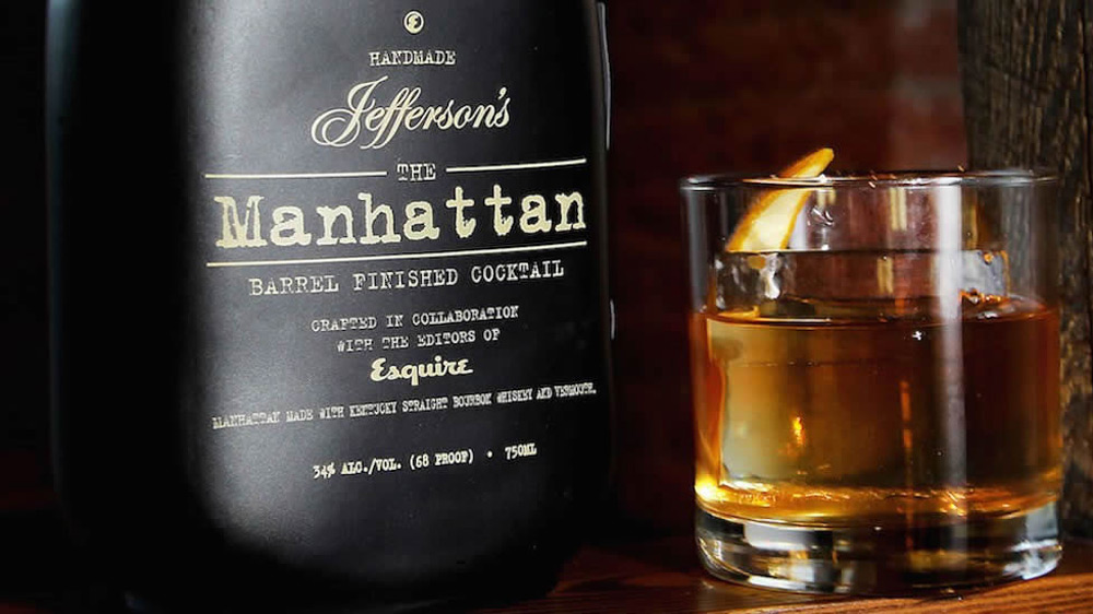 Manhattan -  Barrel Finished Cocktail by Jefferson's Bourbon And Esquire