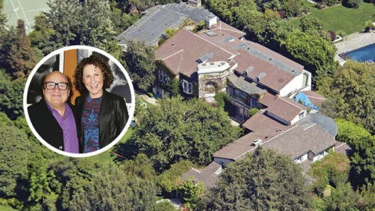 Danny DeVito and Rhea Perlman Quietly List BevHills Estate