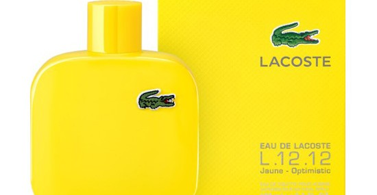 Iconic Lacoste Polo Shirt as a Fragrance - Eau de Lacoste L.12.12 Jaune