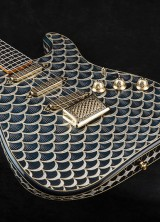 Fender Gold & Diamond Stratocaster Inspired by Faberge Easter Egg