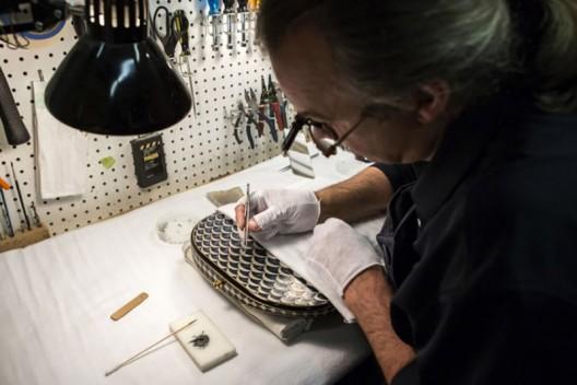 Fender Gold & Diamond Stratocaster Inspired by Faberge Easter Egg