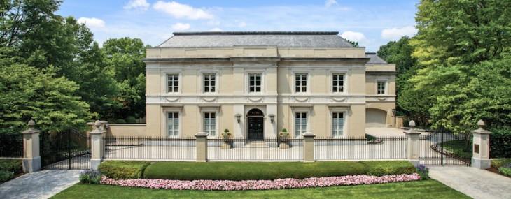 Fessenden House - Luxury Home in Washington on Sale for $22 Million