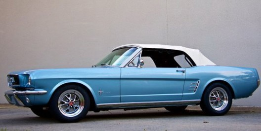 Replica of the Original Mustang - Blend of Old and New