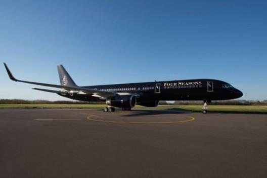 Four Seasons' Luxury Private Jet
