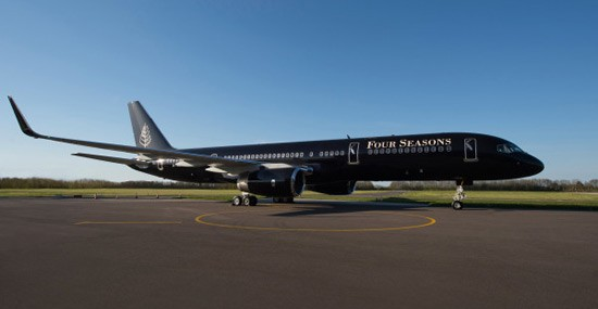 First Four Seasons' Luxury Private Jet