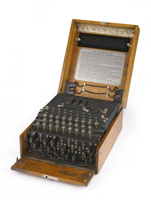 German 3-Rotor Enigma Machine Sold For Record $269,000 at Bonhams Auction