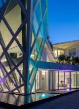 Modern Architectural Jewel in Golden Beach, Florida on Sale