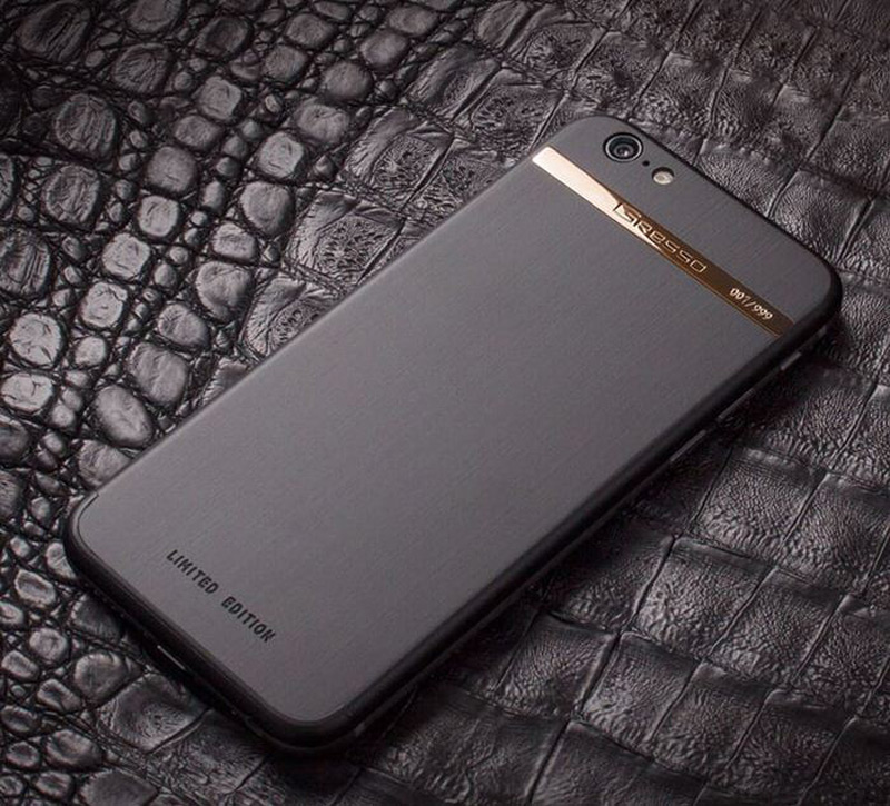 Gresso's $5000 18-karat Gold iPhone 6 Case