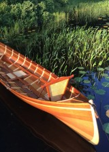 Handcrafted Cedar-strip Adirondack Guide Boats