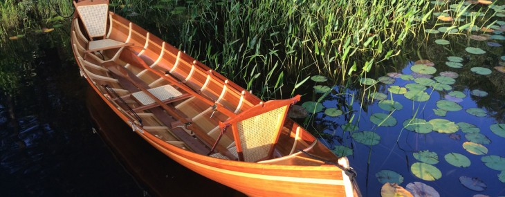Handcrafted Cedar-strip Adirondack Guide Boats