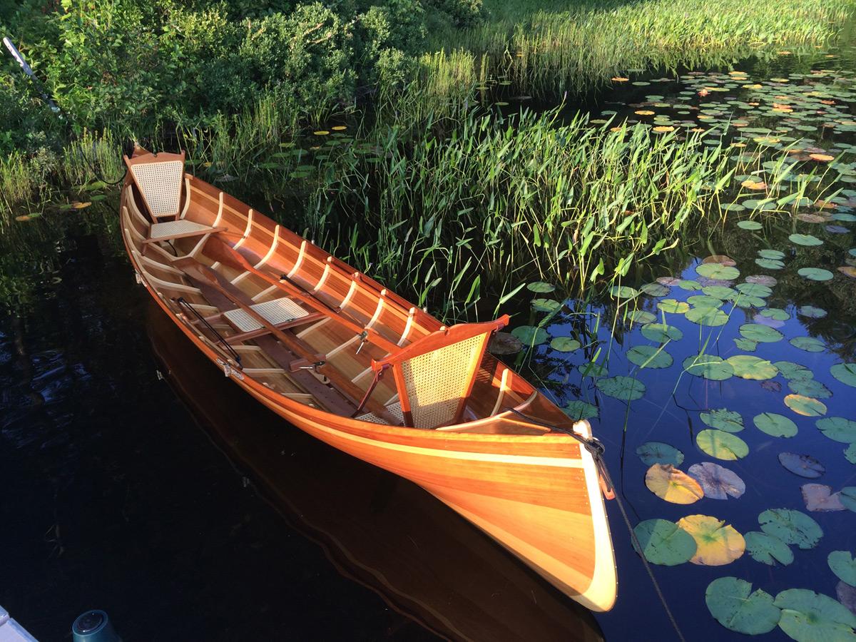 Handcrafted Cedar Strip Adirondack Guide Boats Extravaganzi